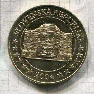 Словакия 2004 евро