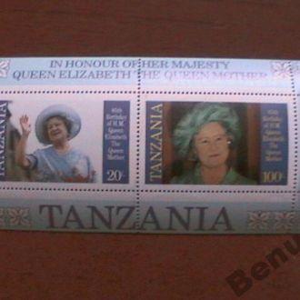 Танзания MNH Королева Елизавета