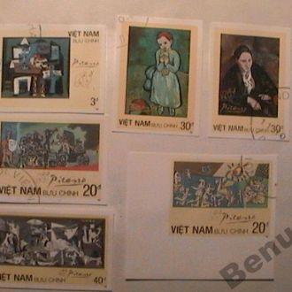 Вьетнам 1987 Пикассо хх