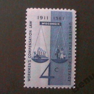 США 1961 MNH