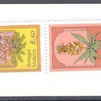 Мадейра 1981 флора цветы буклет ** о