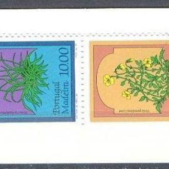 Мадейра 1982 флора цветы буклет ** о