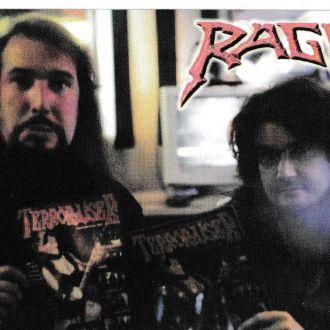 Календарик 2007 Rage, Рок, Metal РЕДКИЙ