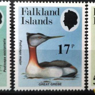 Фолклендские острова 1984 птицы фауна MNH