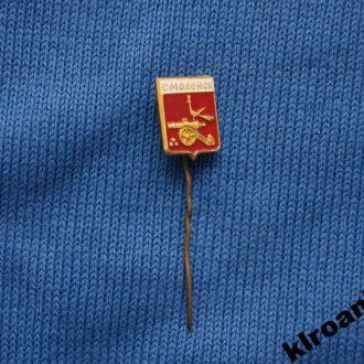 Значок  герб Смоленск
