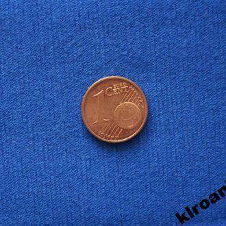 Германия 1 евроцент 2004 г ЛЮКС