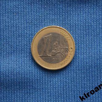 1 евро Австрия 2002 г