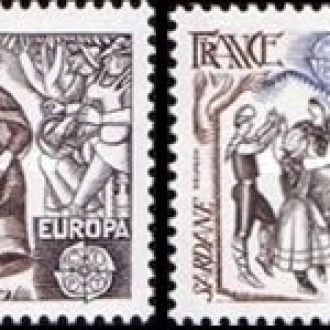 Франция 1981 Европа Септ танцы костюмы музыка ** о