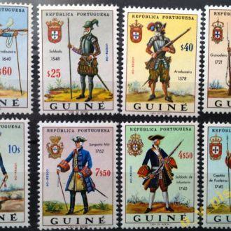 Португальская Гвинея 1966  MNH