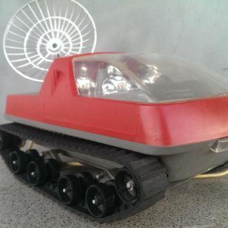 М Игрушка машинка планетоход красный СССР