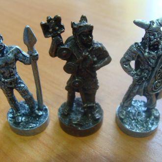 воины рим и галлы за 3 шт. новые