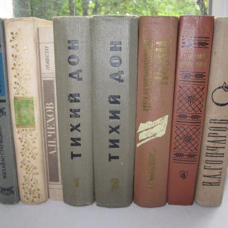 Книги СССР Тихий Дон, Обломов, Чехов