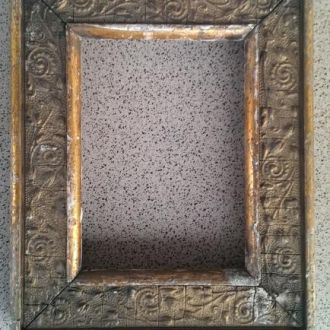 Рамка для картины позолота цветы царизм