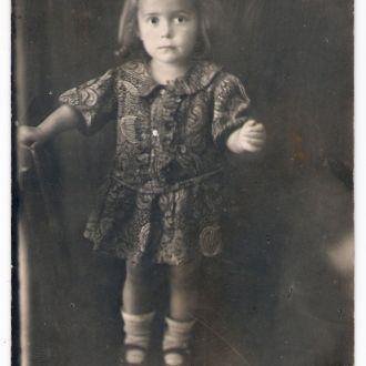 2-летняя девочка 1926 г.