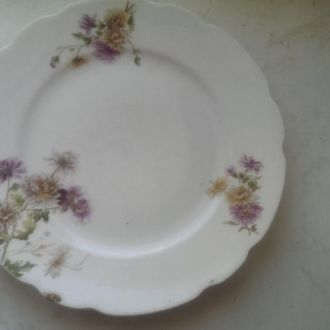 Тарелка цветы Дулево фарфортрест бывшй Гарднер