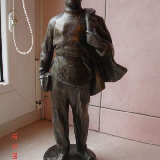 Фигура алюминий молодой Ульянов-Ленин
