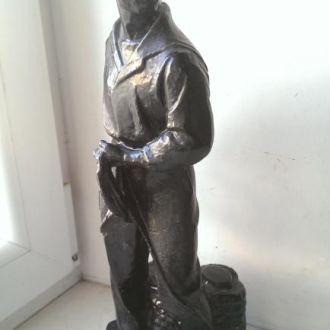 Фигурка моряк авторский Шильников артель гипс СССР