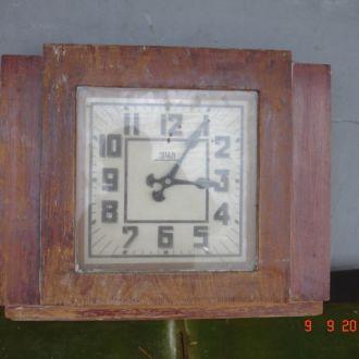 Часы настенные ЗЧЛ в деревянном корпусе