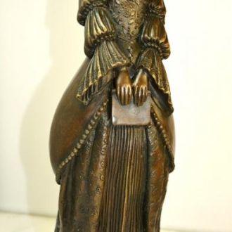 Императрица бронза статуэтка скульптура.Доставка бесплатно !