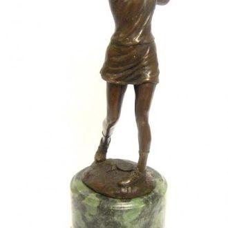 Бронзовая статуэтка игрок в гольф бронза