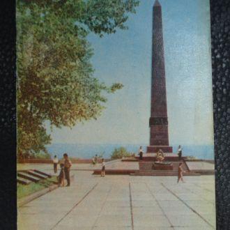 Одесса Памятник Неизвестному матросу 1970 год