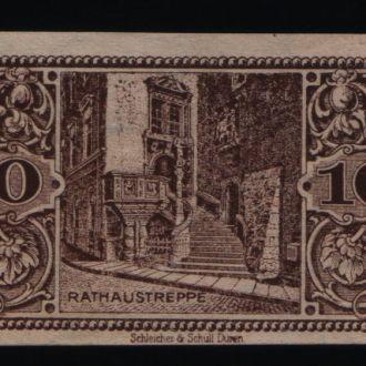 Германия нотгельд  10 пфенингов  1921 г