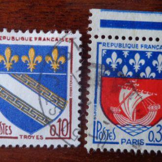 Франция,гербы городов