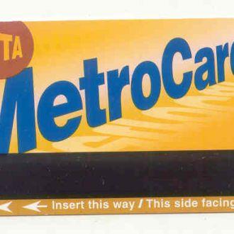 N.Y. Билет в метро 09.30.2010 США/USA