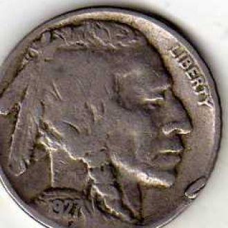 США 5 центов 1927г