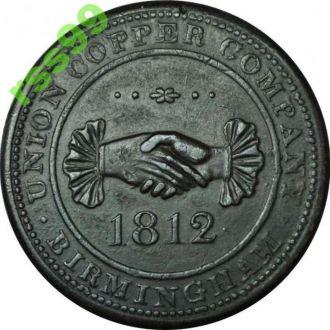АНГЛИЯ, Бирмингем 1 пенни 1812 года
