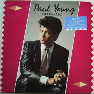 PAUL YOUNG  No Parlez  LP  VG(+)/VG++