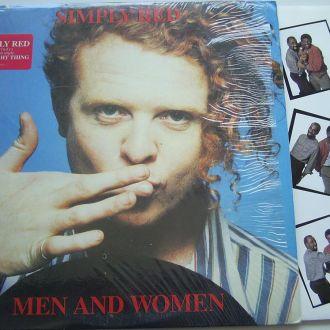 SIMPLY RED  Men And Women  LP EX-/EX
