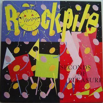 ROCKPILE  Seconds Of Pleasure  LP  VG+/EX+