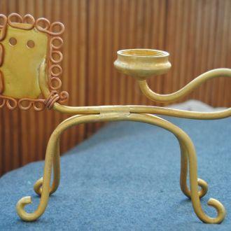 Підсвічник декоративний бронза подарунок знаку лев