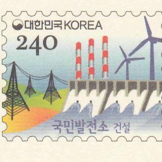 Корея 2012 ЭНЕРГОСБЕРЕЖЕНИЕ ВЕТРЯКИ ГИДРОЭЛЕКТРОСТАНЦИЯ ГЭС ПЛОТИНА ДАМБА ЛЭП ТРУБЫ ПК с ОМ**