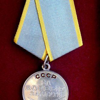 Медаль за Боевые заслуги. Без номера.