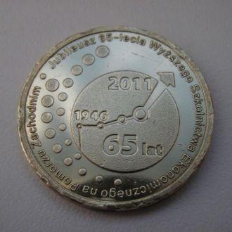 Юбилейная медаль жетон Западная Померания