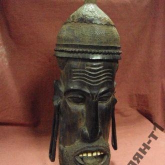 африка эбеновое дерево маска