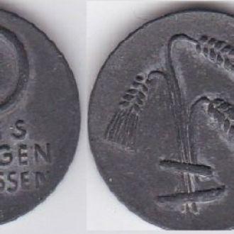 Германия - 10 Pfennig Budingen F / VF Нотгельд