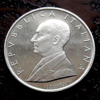 500 лир Италия 1974 РЕДКАЯ !!! PROOF!!! серебро