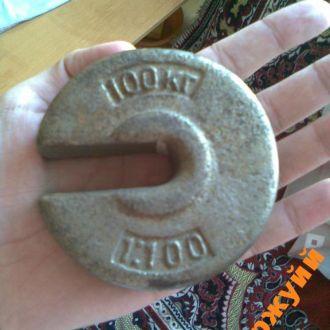 гиря торговая ссср винтаж 1 кг
