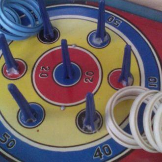 Настольная детская играСССР Набрось кольцо рабочая