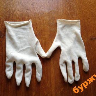 перчатки армейские парадные ссср белые