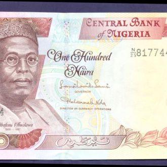 Боны Африка Нигерия 100 найра 2011 г.