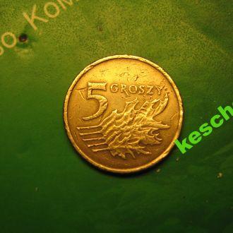 Польша 2006  5 грошей