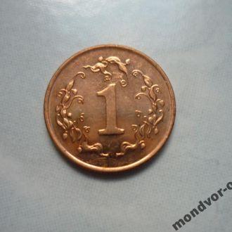 Зимбабве 1 цент 1997 состояние