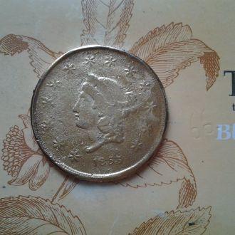 США, 50 долларов 1855 г, копия,большая