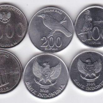 Индонезия 6 м 25 50 100 200 500 1000 1994 2010 UNC