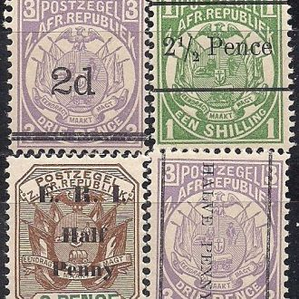 БРИТ. КОЛОНИИ TRANSVAAL 1885/87 MNH