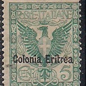 КОЛОНИИ ИТАЛИИ ЭРИТРЕЯ 1903 MLH 50 ЕВРО
